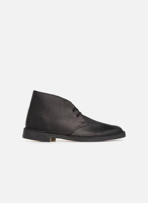Stiefeletten & Boots Clarks Originals Desert Boot M schwarz ansicht von hinten