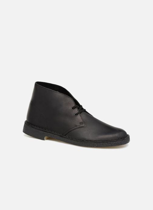 Stiefeletten & Boots Clarks Originals Desert Boot M schwarz detaillierte ansicht/modell