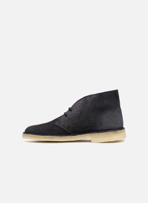 Bottines et boots Clarks Originals Desert Boot M Bleu vue face