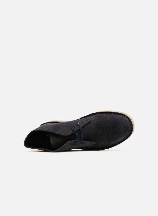 Bottines et boots Clarks Originals Desert Boot M Bleu vue gauche