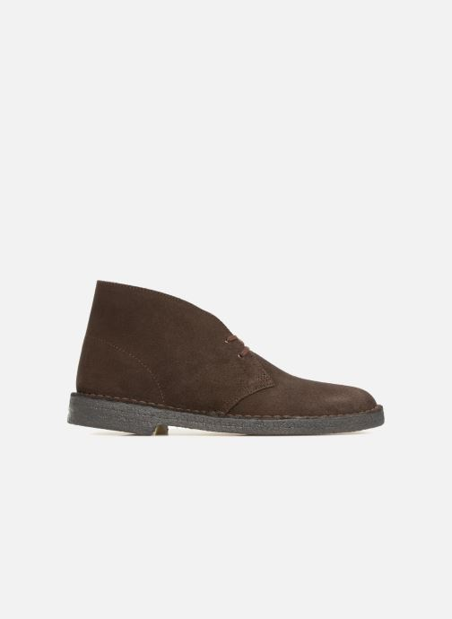 Ankle boots Clarks Originals Desert Boot M Brown back view