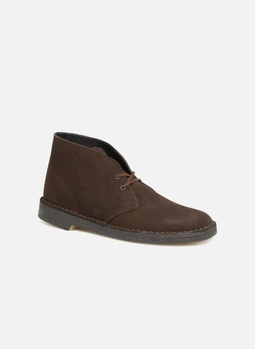Bottines et boots Clarks Originals Desert Boot M Marron vue détail/paire