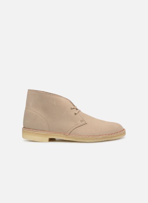 Ankle boots Clarks Originals Desert Boot M Beige back view