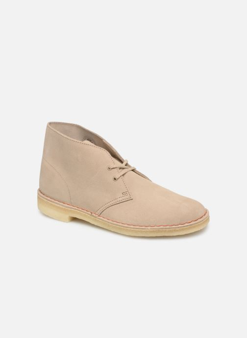 Bottines et boots Clarks Originals Desert Boot M Beige vue détail/paire