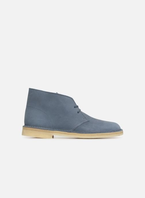 Ankle boots Clarks Originals Desert Boot M Blue back view