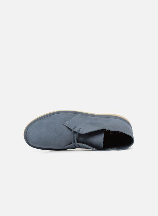 Boots en enkellaarsjes Clarks Originals Desert Boot M Blauw links