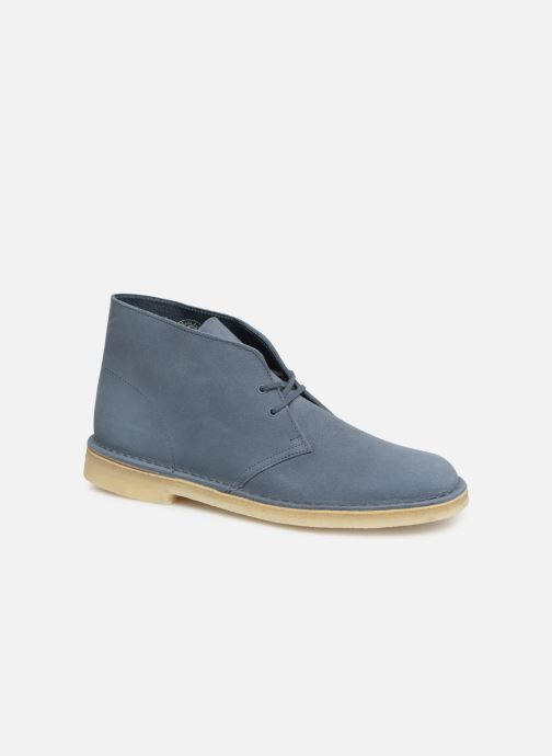 Ankle boots Clarks Originals Desert Boot M Blue detailed view/ Pair view