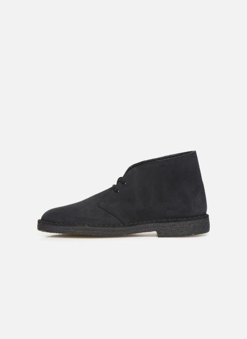 Bottines et boots Clarks Originals Desert Boot M Bleu vue face