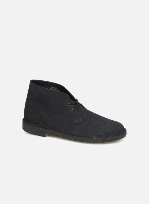 Bottines et boots Clarks Originals Desert Boot M Bleu vue détail/paire