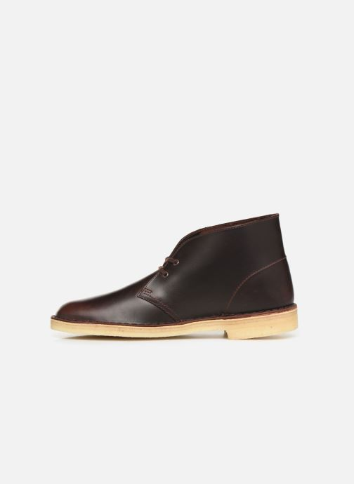 Ankle boots Clarks Originals Desert Boot M Brown front view