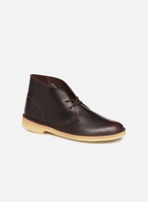 Ankle boots Clarks Originals Desert Boot M Brown detailed view/ Pair view