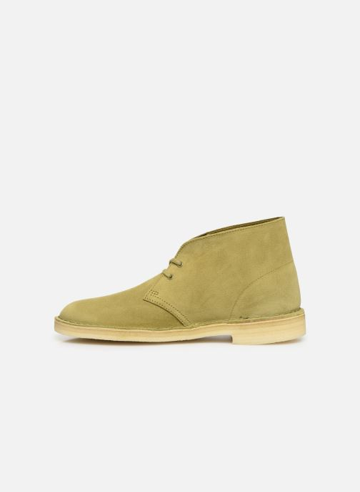 Bottines et boots Clarks Originals Desert Boot M Vert vue face