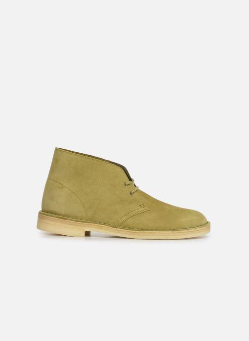 Stivaletti e tronchetti Clarks Originals Desert Boot M Verde immagine posteriore