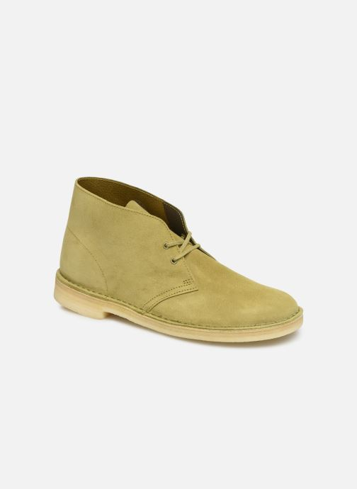 Ankle boots Clarks Originals Desert Boot M Green detailed view/ Pair view
