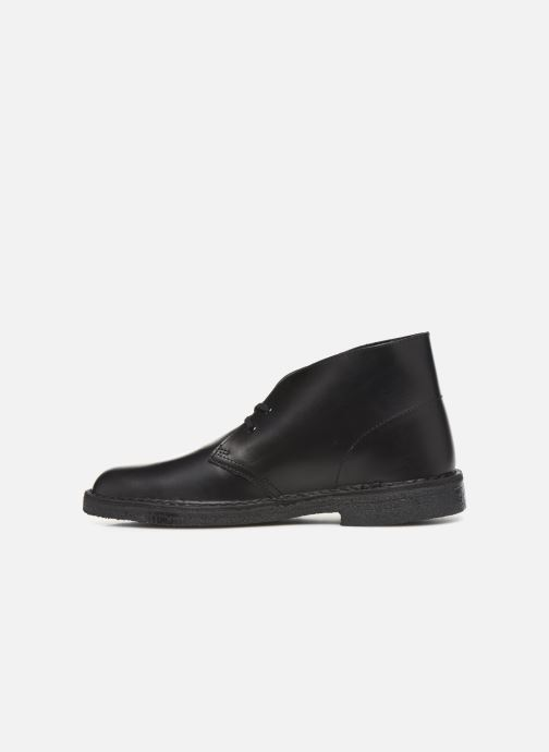 Bottines et boots Clarks Originals Desert Boot M Noir vue face