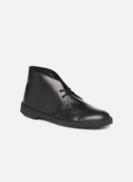 Botines  Clarks Originals Desert Boot M Negro vista de detalle / par