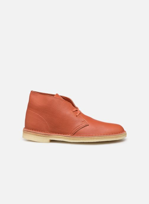 Bottines et boots Clarks Originals Desert Boot M Orange vue derrière