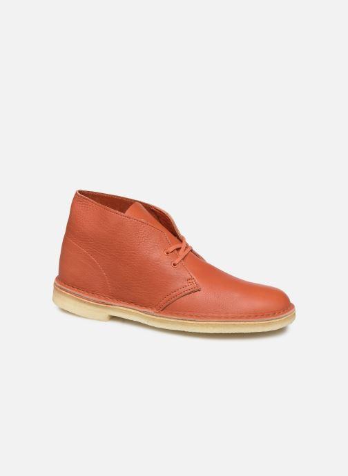 Ankelstøvler Clarks Originals Desert Boot M Orange detaljeret billede af skoene