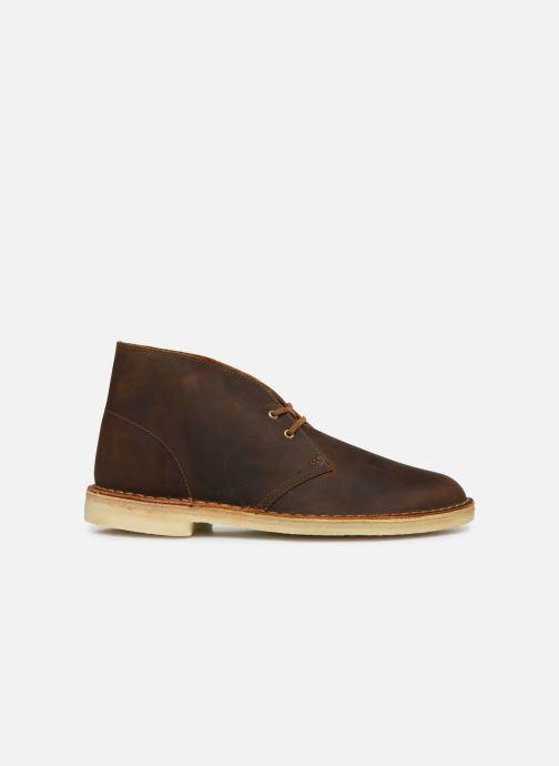 Bottines et boots Clarks Originals Desert Boot M Marron vue derrière
