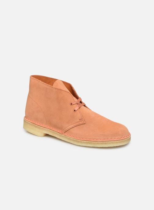 Boots en enkellaarsjes Clarks Originals Desert Boot M Oranje detail