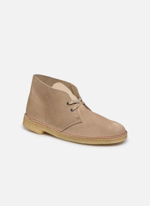 Stiefeletten & Boots Clarks Originals Desert Boot M beige detaillierte ansicht/modell