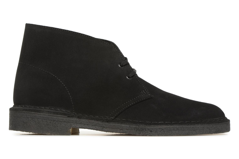 Boots en enkellaarsjes Clarks Originals Desert Boot M Zwart achterkant