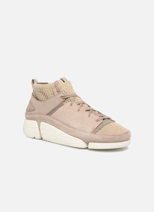 Sneaker Clarks Originals Trigenic Evo  M grau detaillierte ansicht/modell