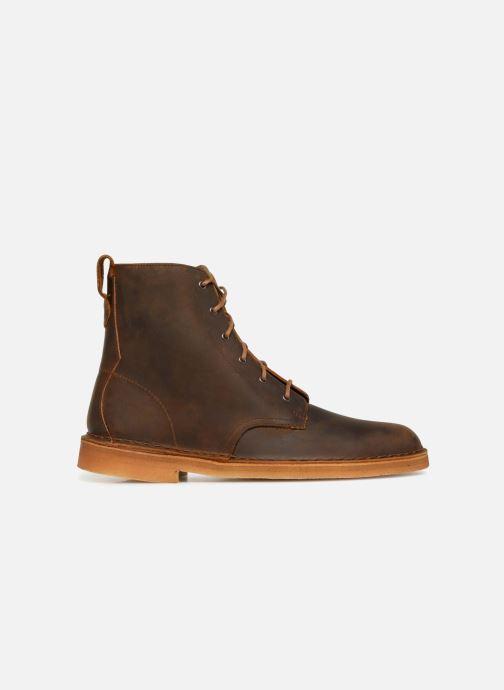 Stiefeletten & Boots Clarks Originals Desert Mali  M braun ansicht von hinten