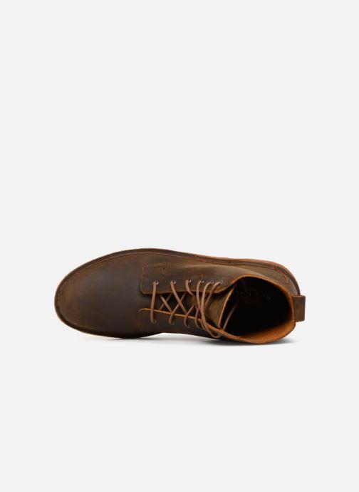 Stiefeletten & Boots Clarks Originals Desert Mali  M braun ansicht von links