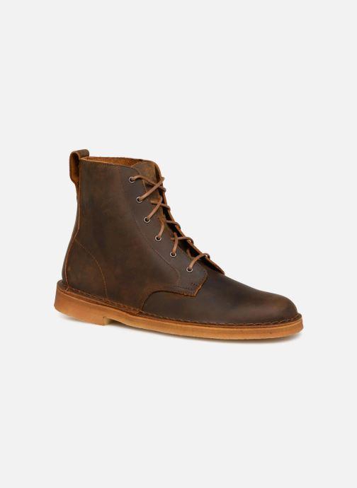 361b1ad50cf Bottines et boots Clarks Originals Desert Mali M Marron vue détail paire