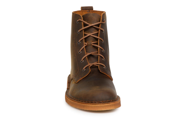 Stiefeletten & Boots Clarks Originals Desert Mali  M braun schuhe getragen