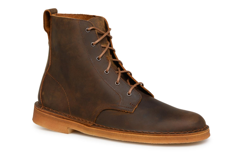 Stiefeletten & Boots Clarks Originals Desert Mali  M braun detaillierte ansicht/modell
