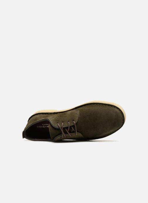 Green Desert London Originals M Chaussures Dark À Lacets Clarks tQhrds