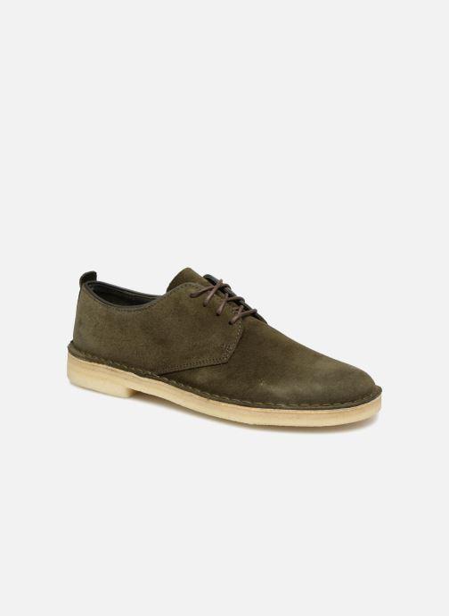 Chaussures à lacets Clarks Originals Desert London M Vert vue détail/paire