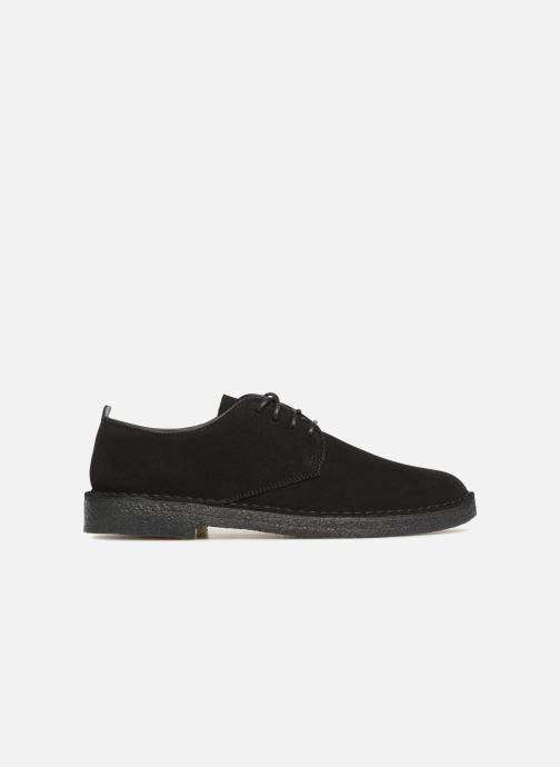 Chaussures à lacets Clarks Originals Desert London M Noir vue derrière