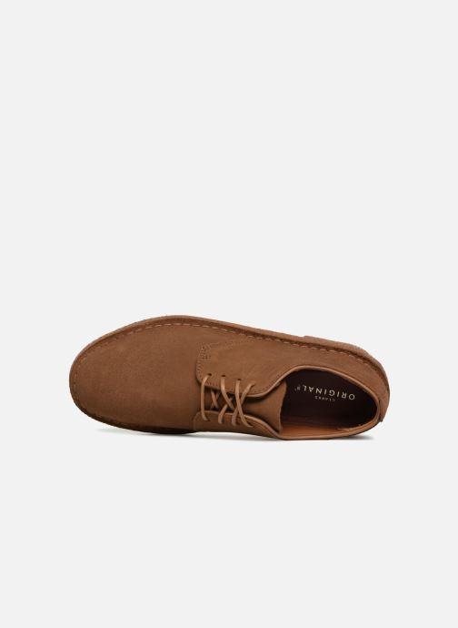 Zapatos con cordones Clarks Originals Desert London M Marrón vista lateral izquierda