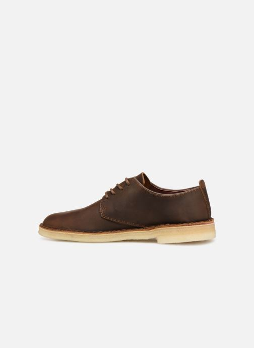 Zapatos con cordones Clarks Originals Desert London M Marrón vista de frente
