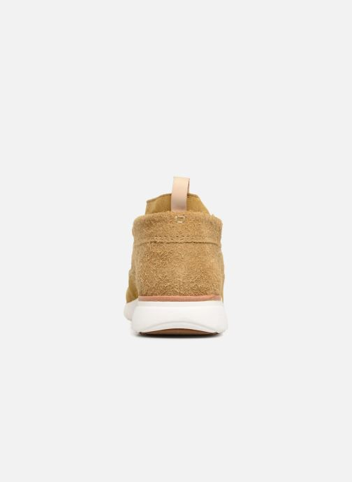 Sneaker Clarks Originals TorTrack Mid  M beige ansicht von rechts