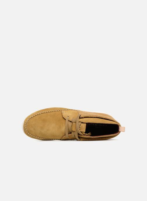 Sneaker Clarks Originals TorTrack Mid  M beige ansicht von links