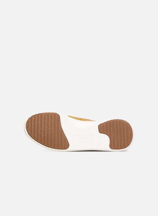 Sneaker Clarks Originals TorTrack Mid  M beige ansicht von oben