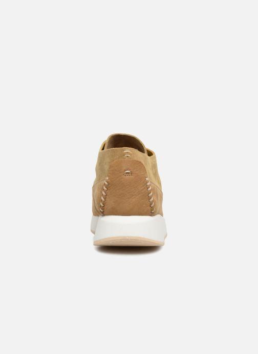 Sneaker Clarks Originals Kiowa Sport M beige ansicht von rechts
