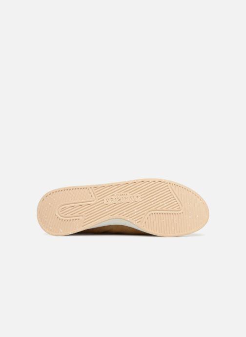 Sneaker Clarks Originals Kiowa Sport M beige ansicht von oben