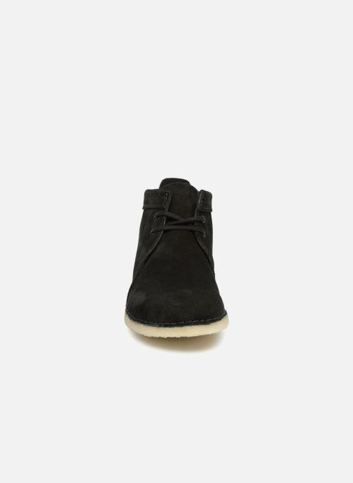 Bottines et boots Clarks Originals Ashton Boot M Noir vue portées chaussures