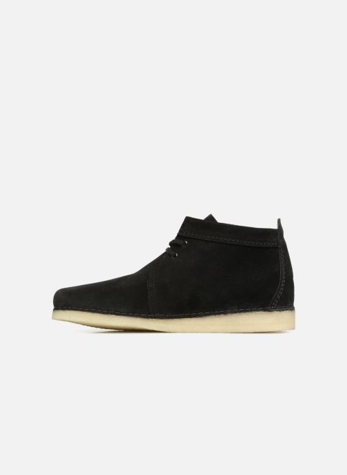 Ankle boots Clarks Originals Ashton Boot M Black front view