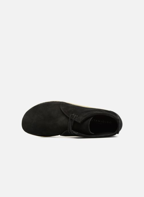 Bottines et boots Clarks Originals Ashton Boot M Noir vue gauche