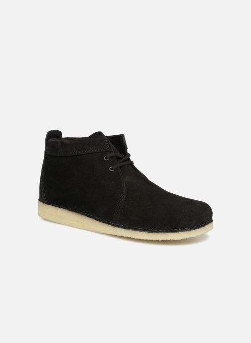 Bottines et boots Clarks Originals Ashton Boot M Noir vue détail/paire