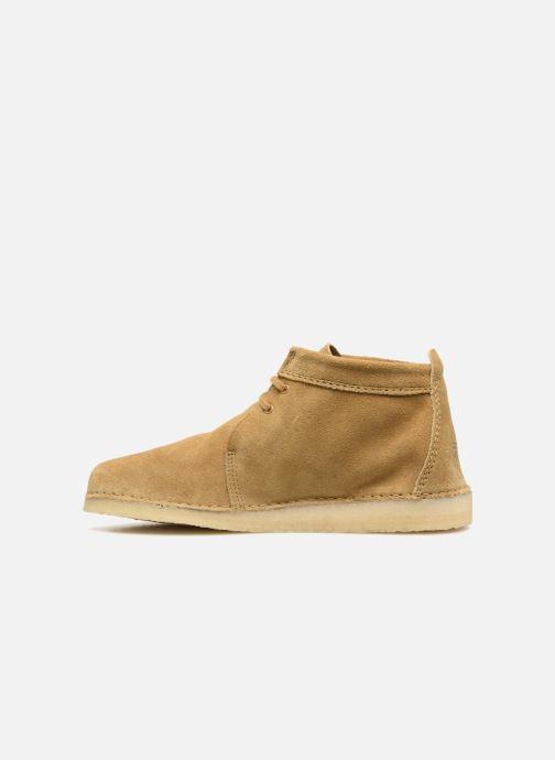 Bottines et boots Clarks Originals Ashton Boot M Beige vue face