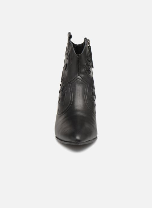 Bottines et boots Anonymous Copenhagen Christy Noir vue portées chaussures