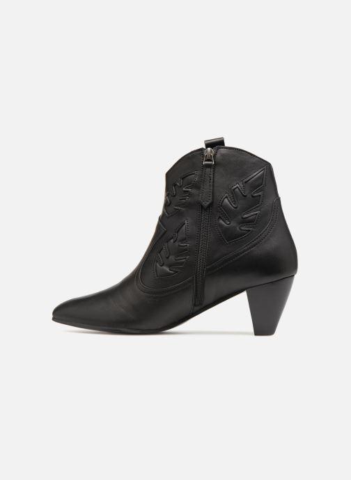 Bottines et boots Anonymous Copenhagen Christy Noir vue face