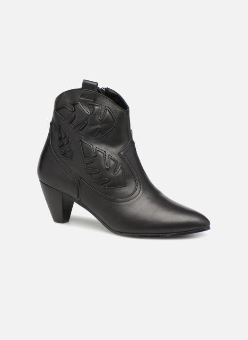 Bottines et boots Anonymous Copenhagen Christy Noir vue détail/paire